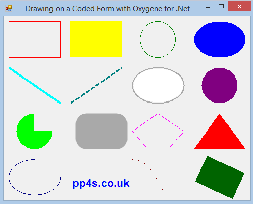 Drawing on a Coded Form